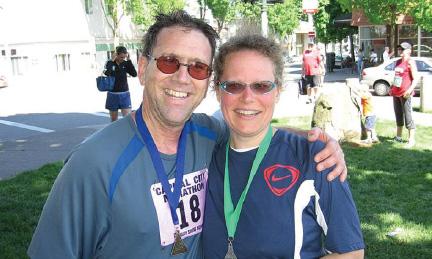 Tim Regis and Louise Becker