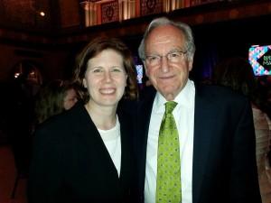 Kathryn Thomas photographed with Sen. Tom Harkin