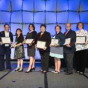 The 2015 Fellows class is recognized during the NCRA Convention & Expo
