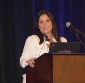 Debra Bollman gave the keynote address at the CCRA conference