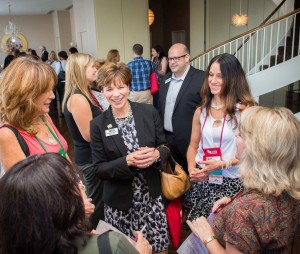 Students and the NCRA Board of Directors mingle at Convention