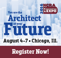 You are the architect of your future. 2016 NCRA Convention & Expo, Aug. 4-7, Chicago, Ill. Register now!