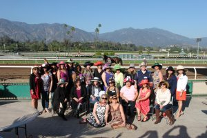 Los Angeles County Court Reporters Association during their 2016 Day at the Races