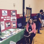 Erminia Uviedo, RDR, CRR, realtiming for students at Southside High School