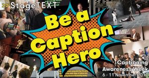 Be a caption hero